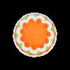 orange cake top