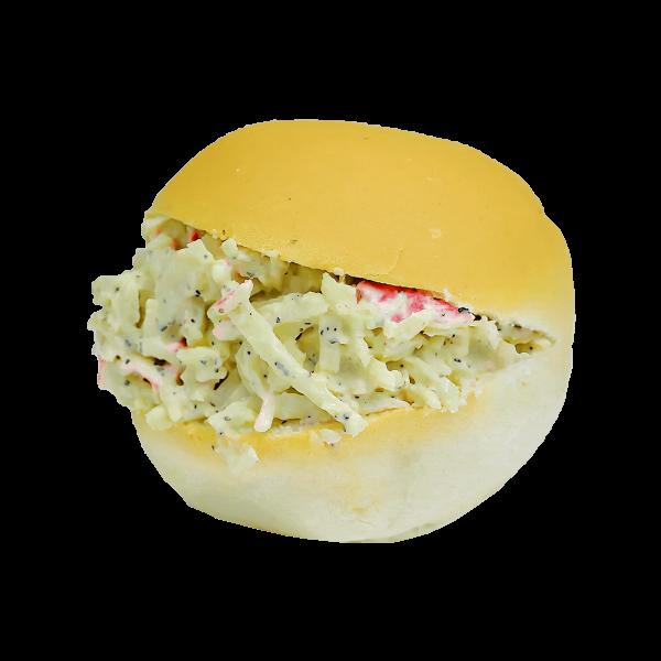 dinner-rolls-crab-salad